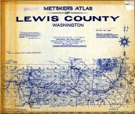 Title Page and Index Map, Lewis County 1948