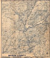 Index Map, Mason County 1955