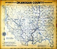 Title Page and Index Map, Okanogan County 1934