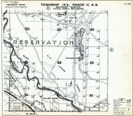Page 020 - Reservation, Carter Woods, Collard Woods, Farnsworth Lake, Nisqually Lake, Foss Hill, Tracy Hill, Bowman Lake, Pierce County 1960