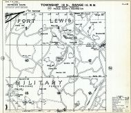 Page 021 - Fort Lewis, Meade Hill, Bare Hill, Atkins Hill, Newman Hill, Crankhite Monument, Toland Hill, Argonne Forest, Sawmill Lake, Pierce County 1960