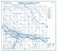 Township 15 North - Range 5 East., Lake Alder, Elbe - Page 081, Pierce County 1965 Version 1 - 2 to 4 inches to a mile