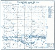 Township 15 North - Range 6 East., National, Ashford - Page 093, Pierce County 1965 Version 1 - 2 to 4 inches to a mile
