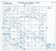 Township 16 North - Range 5 East., Mashel River, Beaver Creek - Page 082, Pierce County 1965 Version 1 - 2 to 4 inches to a mile