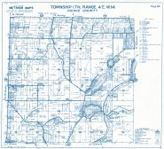 Township 17 North - Range 4 East., Clear Lake, Tanwax Lake, Lakehead - Page 068, Pierce County 1965 Version 1 - 2 to 4 inches to a mile