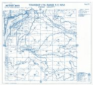 Township 17 North - Range 5 East., Lake Kapowsin, Ohop, Puyallup River - Page 083, Pierce County 1965 Version 1 - 2 to 4 inches to a mile