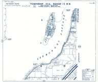Township 19 North - Range 1 East., Cormorant Passage, Ketron Island - Page 023, Pierce County 1965 Version 1 - 2 to 4 inches to a mile