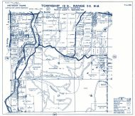 Township 19 North - Range 5 East., Rhode Lake, Puyallup River - Page 086, Pierce County 1965 Version 1 - 2 to 4 inches to a mile