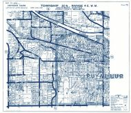 Township 20 North - Range 4 East., Puyallup River, Clark Creek - Page 073, Pierce County 1965 Version 1 - 2 to 4 inches to a mile
