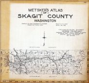 Title Page and Index Map, Skagit County 1925