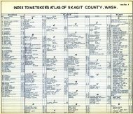 Index 001, Skagit County 1941
