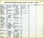 Index 002, Skagit County 1941