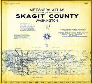 Title Page and Index Map, Skagit County 1941