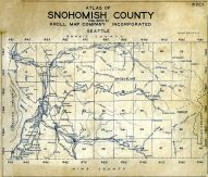 Title Page - Index Map, Snohomish County 1934