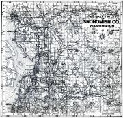 Title Page and Index Map 1, Snohomish County 1960 Published by Metskers