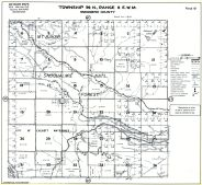 Page 061 - Snoqualmie National Forest, Mt. Baker, Everett Watershed, Blue Mountain, Wilson Creek, Miller Creek Pilchuck River, Ashland Lakes, Snohomish County 198x