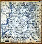 Title Page and Index Map 1, Stevens County 1963