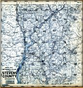 Title Page and Index Map 2, Stevens County 1963
