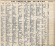 Index 002, Thurston County 1962