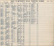 Index 003, Thurston County 1962