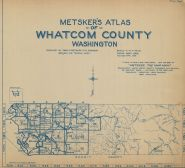 Title Page and Index Map, Whatcom County 1925 Revised 1929