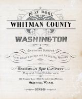 Title Page, Whitman County 1910