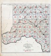Whitman County Index Map, Whitman County 1910