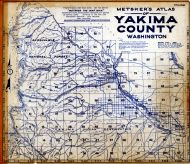 Index Map, Yakima County 1934