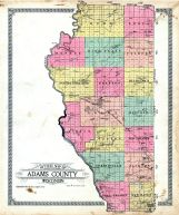 County Outline, Adams County 1919