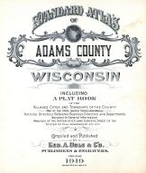 Title Page, Adams County 1919