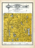 Lakeland Township, Barron County 1914