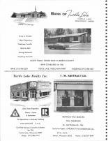 Bank of Turtle Lake, Turtle Lake Realty Inc., T.M. Abstract Co., Barron County 1978