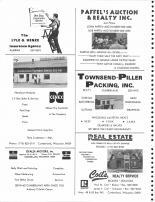 Lyle Henze, Paffel's Auction, Cumberland Farmers Union, Townsend-Piller Packing, Cifaldi Motors, Coil's Realty, Barron County 1978