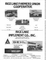 Rice Lake Farmers Union Cooperative, Rice Lake Implement Co. Inc., Barron County 1978
