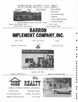 Ritchie Auto Co., Barron Implement Co., Cobb Realty, Barron County 1978