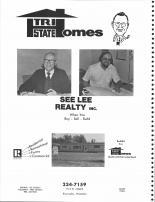 See Lee Realty Inc., Tri State Homes, Lee & Mike Gesicki, Barron County 1978