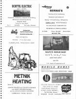 Uchytil Electric, Bernie's, Holmstrom Custom Construction, Waite's Repair Shop, Metnik Heating, Barron County 1978
