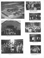 Alma Elementary & High School, Harmonia Town Hall, Hillside School - 1955, Buffalo County 1966