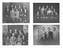 Arno Rieck Family, Fluschauer Familly, La Dude Family, Clarence Linse Familly, Buffalo County 1966