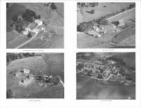 Eldon Adams, Clarence Orne, Robert Brommer, Modena Village Aerial View, Buffalo County 1966