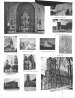 St. Boniface, Lyster Lutheran Church, St. Mary's Catholic Church, Emmaculate Conception Church, Buffalo County 1966