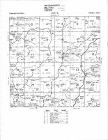 Waumandee - South, Milton - Northeast, Cross - North, Buffalo County 1966