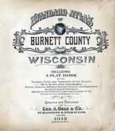 Title Page, Burnett County 1915