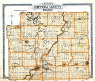 Outline Map, Chippewa County 1920