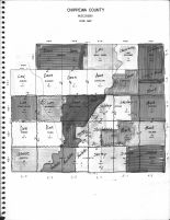 Index Map, Chippewa County 1969