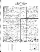 Lafayette - Northeast, Anson - Southeast, Arthur - Southwest, Siegel - Northwest, Goetz - West, Chippewa County 1969