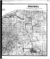 Dekorra Township, Poynette - Right, Columbia County 1873