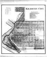 Kilbourn City, Columbia County 1873