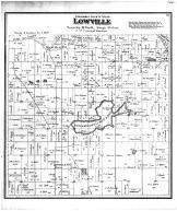 Lowville Township, Rocky Run PO, Wissahiconi or Mud Lake, Columbia County 1873