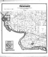 Newport Township, Kilbourn City, Otsego, Columbia County 1873
